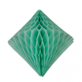 12'' diamond honeycomb - mint