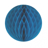 12'' honeycomb ball - blue