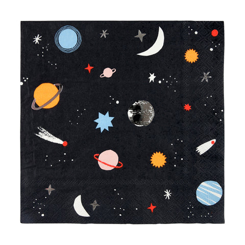 large space napkin