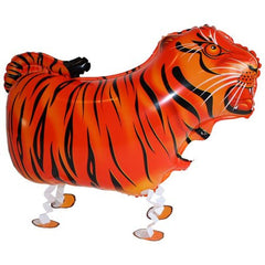 tiger walking balloon