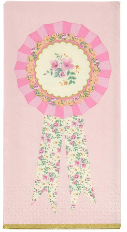 pony party napkins pink