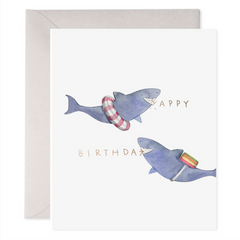 shark greeting card