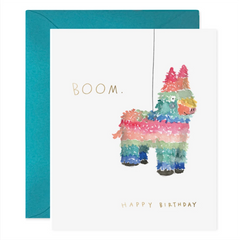 pinata birthday greeting card