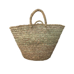 medium woven Moroccan market basket