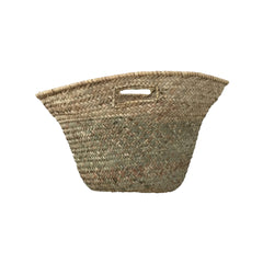 medium market basket with flat handles