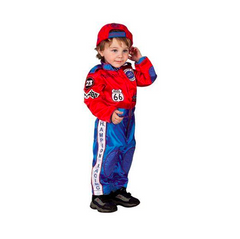 Champion Racing Suit and cap