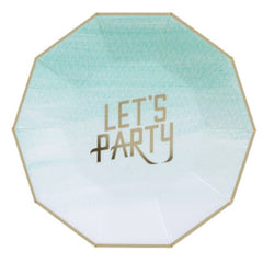 let's party large plates