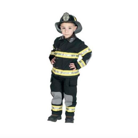 fire fighter suit - black