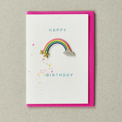 rainbow patch card