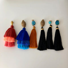 senang tassel with jewel