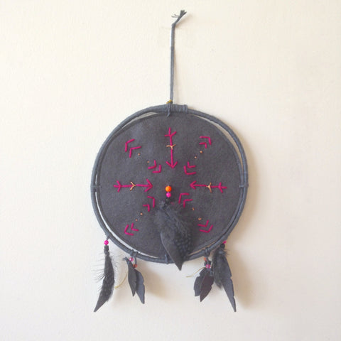 dreamcatcher dark grey