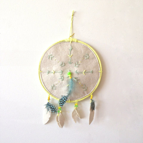 dreamcatcher yellow