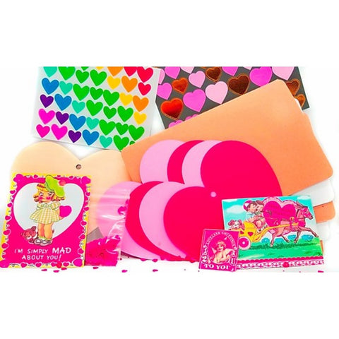valentines stationery kit
