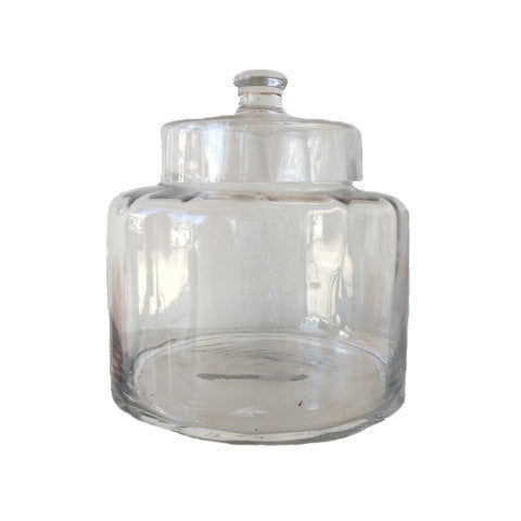 optic candy jar with lid