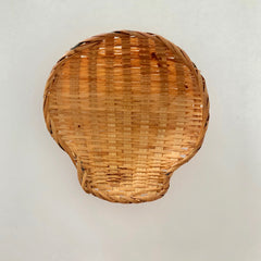 tan shell basket
