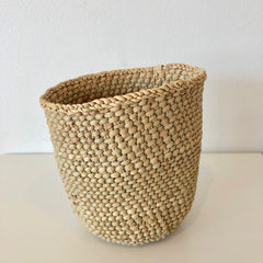 tall wide woven container