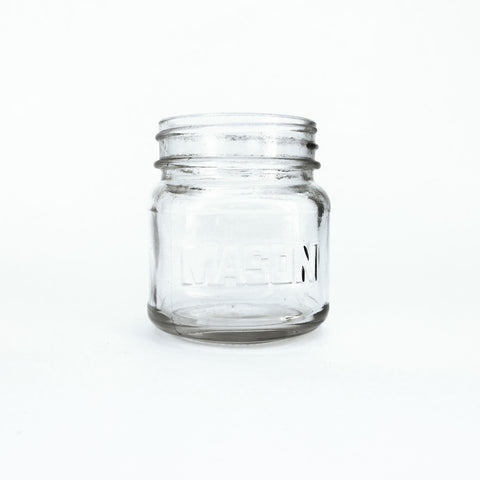 small short mason jar