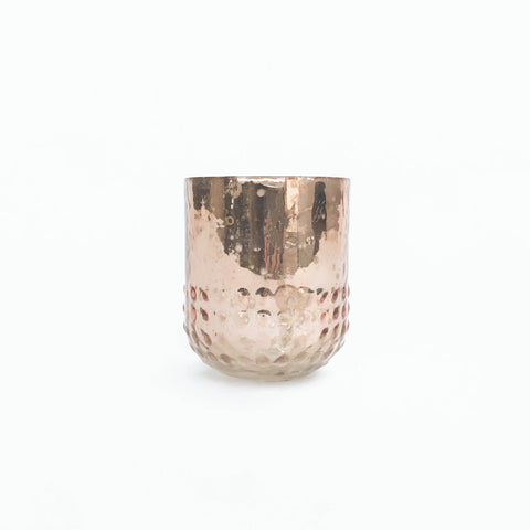 copper votive holder