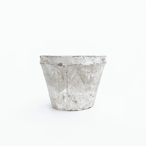 small grey ceramic vase