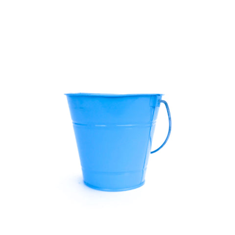 light blue bucket