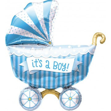 it's a boy mylar balloon - 14 inches
