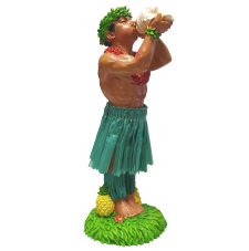 hula doll - man with conch shell