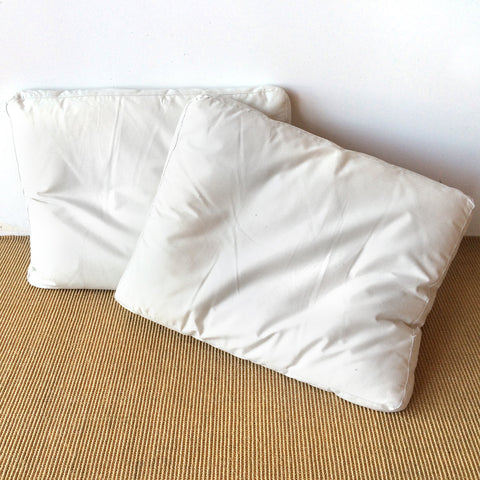 white pillow rental