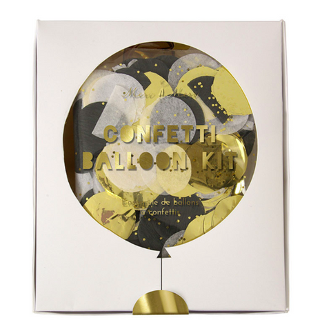 shine confetti balloon kit