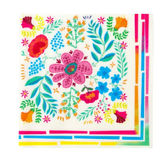 talking tables boho floral napkin