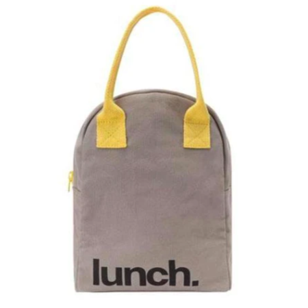 lunch bag grey