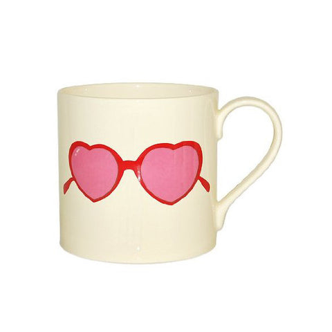 child mug - sunglasses