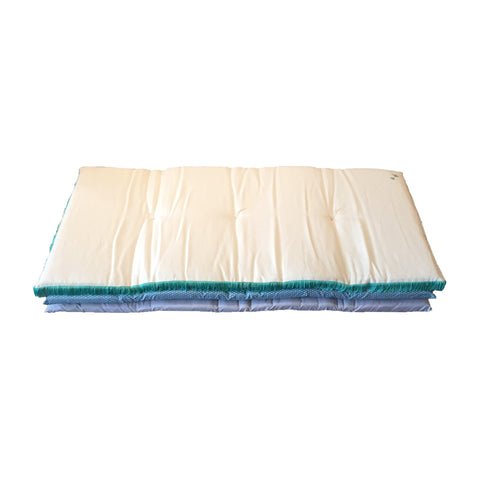 little hippie mattress - teal fringe