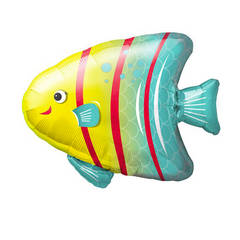 angelfish mylar balloon - 14 inches