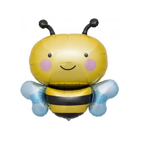 bumble bee mylar balloon