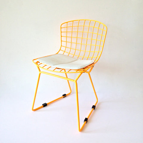 Kids bert chairs - neon orange