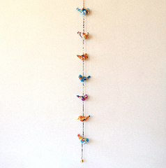 indian bird garland
