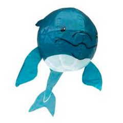 blue whale paper balloon