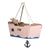 Little sailor cardboard pink boat