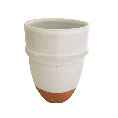 moroccan ceramic tea cup - tall