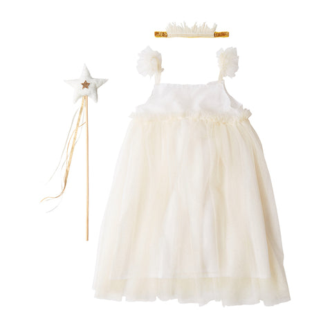 white tulle dress up