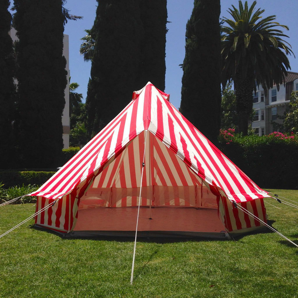 circus canvas tent | fire and creme kids
