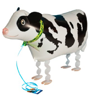 cow walking balloon
