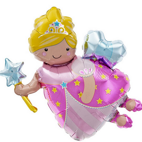 fairy godmother mylar balloon - 14 inches