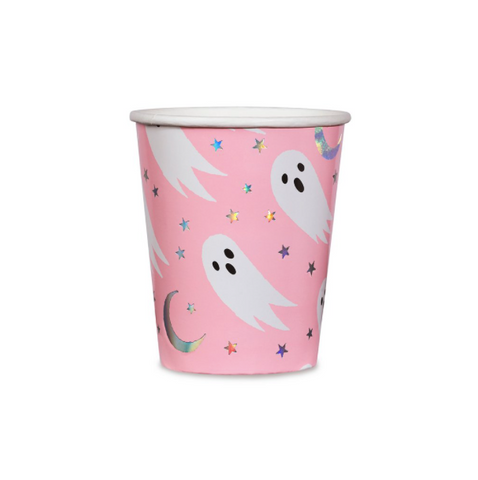 pink ghost cups