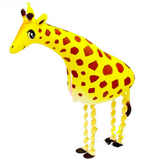 giraffe walking balloon