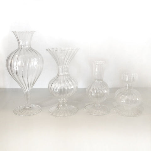 glass bud vase assortment