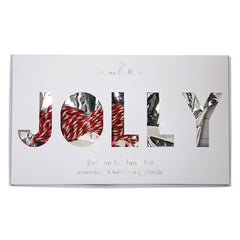jolly balloon garland kit