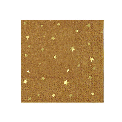 kraft star small napkin
