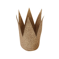 large glitter crown