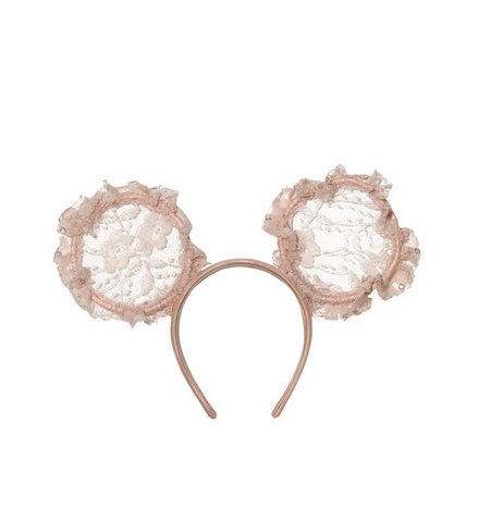 mini me headband - powder